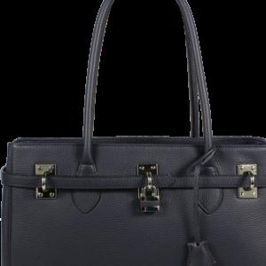Kožená kabelka Azra Grande Blu
