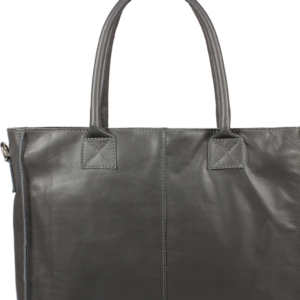 Italská kožená kabelka Fausta Grigia Scura