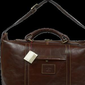 Velká kožená taška Imelda Marrone 2