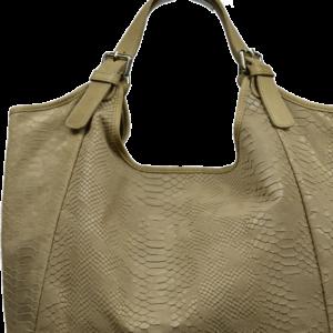 Kožená kabelka Adelaide Ocra Serp