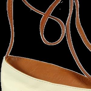 Italská kožená kabelka Angola Beige Camel