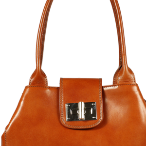 Kožená kabelka  Angela Camel Chiaro